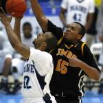 UMaine holds off Princeton 52-50