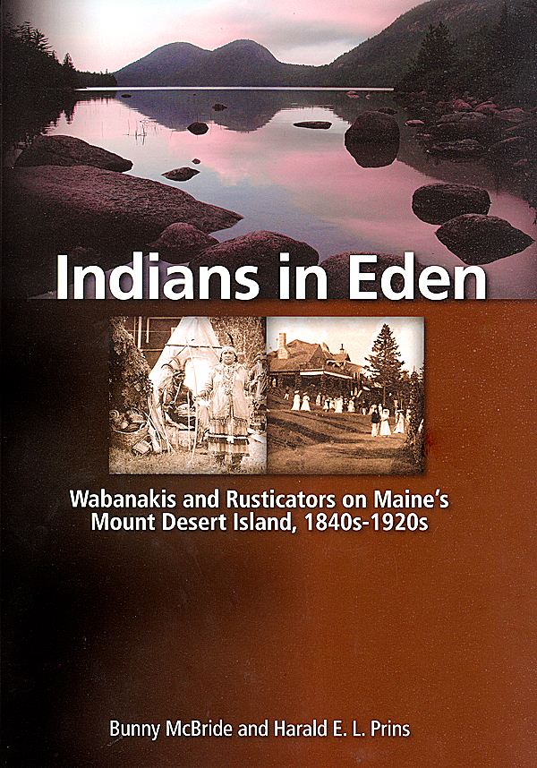Indians in Eden, book cover. for WEEKLY/BEACON