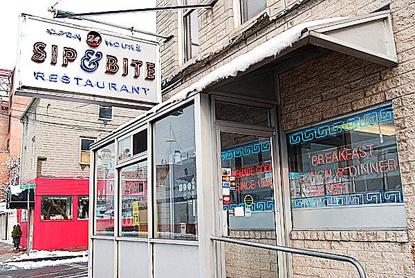 The Sip & Bite diner. PHOTO BY MEG ADAMS