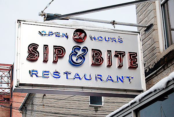 The Sip & Bite diner. PHOTO BY MEG ADAMS
