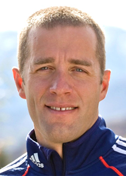 Jeremy Teela,  U. S. Olympic biathlon team. (Photo courtesy of U. s. Biathlon Assoc.)