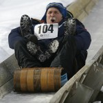 Snow Bowl toboggan chute iced and ready