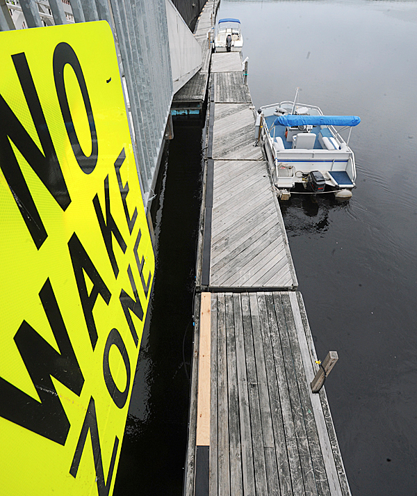 The docks at the Bangor Waterfront.  May 18th 2009.  BANGOR DAILY NEWS FILE PHOTO BY GABOR DEGRE