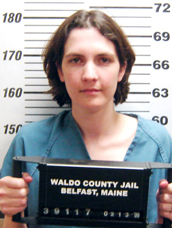 Amber Cummings (AP Photo/Waldo County Jail) (indicted in shooting of husband James G. Cummings)