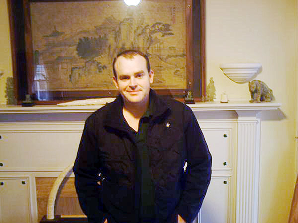 James G. Cummings, of Belfast, in a photo from his MySpace page.