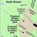 Brewer, Orrington working toward adjacent business parks