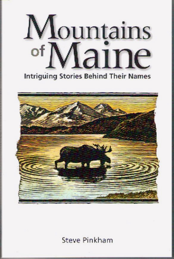 Mountains of Maine book cover - with Brad Viles