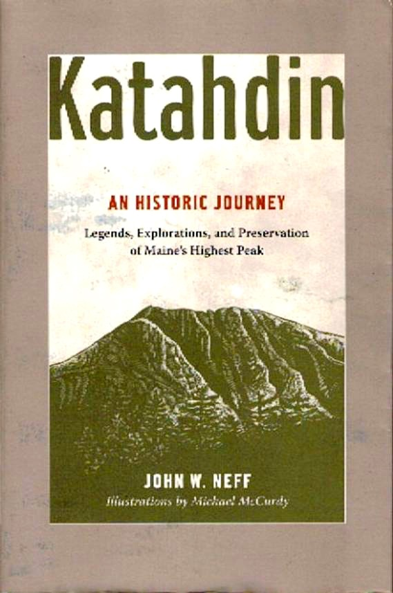 Katahdin and Historic Journey book cover - with Brad Viles