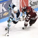 UMass sweeps Maine, but Bears get home ice in playoffs
