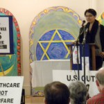 Afghan woman speaks in Bangor