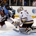 Black Bears skate to tie against BC