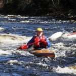 Paddlers adapt to revised Passy route; kayaker Sands posts top time