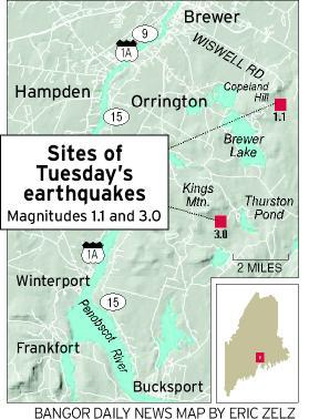 Earthquakes happen often in Maine and likely will rattle state again ...