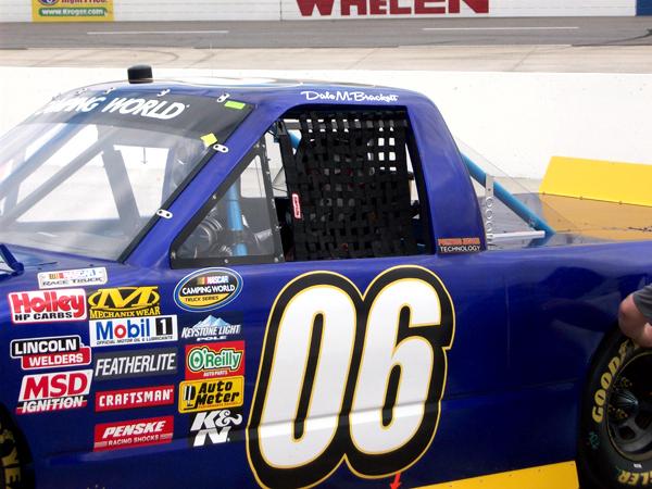 Dale M. Brackett's truck