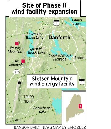 Ribbon-cutting launches Stetson II wind project