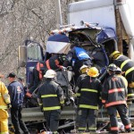 Maryland driver's tanker truck hits I-95 guardrail