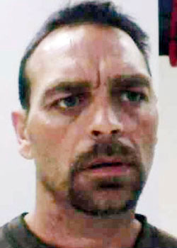 The State Fire Marshal's Office says an arrest warrant has been issued for an Augusta man charging him in connection with last year's fire in Vassalboro that destroyed the Grandview Topless Coffee Shop.  Fire Marshal Sgt. Kenneth Grimes said his investigators and police are looking for 49 year old Raymond Bellavance who will be charged with arson.   Bellavance lives at 3 Jefferson Street in Augusta and has not been seen for the last couple of days.  Bellavance was a boyfriend of one of the waitresses.     Grimes said the arrest warrant was issued by the Kennebec County Superior Court Monday and results from the ten month investigation by the Fire Marshal's Office and the Kennebec County Sheriff's Office.  The fire on June 3, 2009, destroyed the coffee shop and adjoining apartments.  At the time of the fire, one of those apartments was occupied by owner Donald Crabtree and six other family members, including two infants.  All escaped without injury.  The fire was discovered by a passing ambulance about 1 a.m.    Bellavance is described as 5'7&quot tall, 150 pounds with dark hair, and numerous tattoos on both arms, the most prominent being a skull on both arms. Anyone with information on Bellavance's whereabouts is asked to call State Police in Augusta at 624-7076, or 911 on a cell phone. (Photo courtesy Maine Dept. of Public Safety)