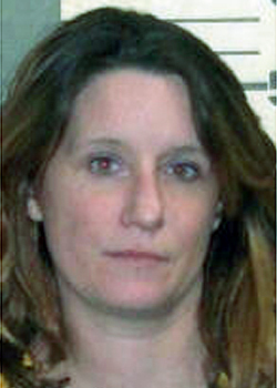 Felicity Hall Butler (Photo courtesy of Knox County Jail)