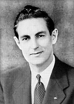 Leonard F. Tibbetts in 1964. (photo courtesy of the Jonesport Historical Society)