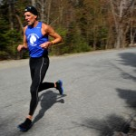 Louie Luchini training for first marathon