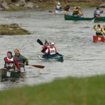 Low water, rocky rapids fail to deter St. George race paddlers; Houlton's Ludwig earns 10th victory