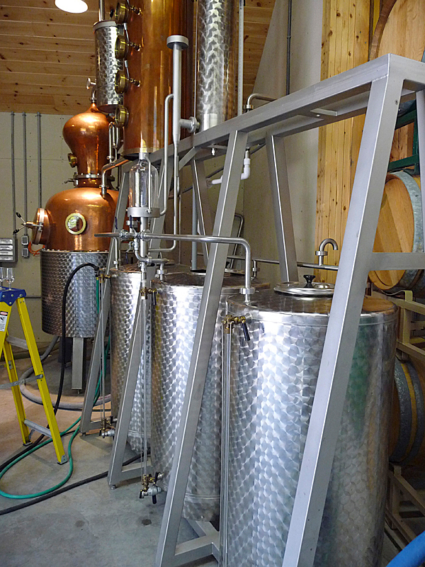 Bartlett's State of Maine Distillery. BANGOR DAILY NEWS PHOTO BY SHARON KILEY MACK