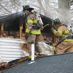 Cigarette discarded in plastic bowl caused fire that damaged Thomaston duplex