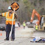 Night work on Route 1A reconstruction starts