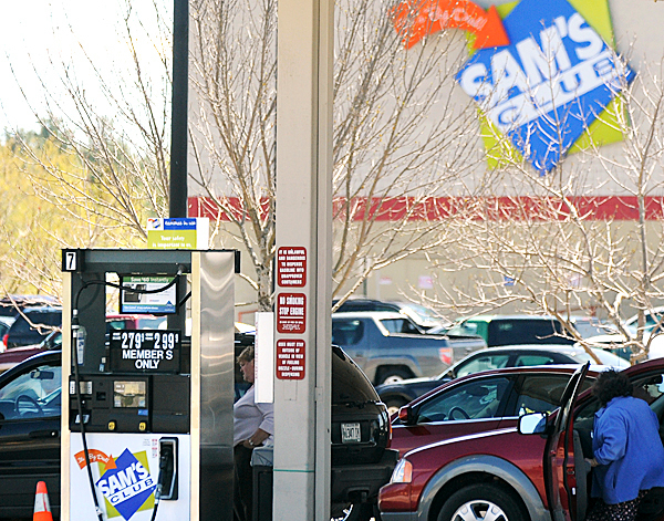 Some small stores that also sell gas have asked Maine's attorney general to investigate illegal pricing of gasoline by Sam's Club.  BANGOR DAILY NEWS PHOTO BY GABOR DEGRE