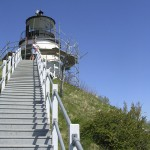 Woman recalls childhood living in lighthouses