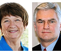 Democratic, Republican candidates for governor