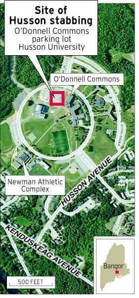 Husson University Campus Map.Victim Sought Protection From Her Alleged Assailant Bangor