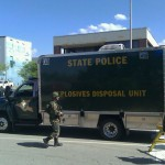 Police: No criminal intent in NH bus bomb scare