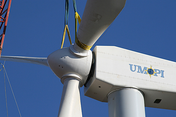 UMPI turbines. PHOTO COURTESY OF UMPI