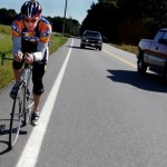 Cyclists relish warm weather in Aroostook