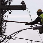 CMP sets 1,000th pole in power grid project