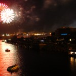 Bangor fireworks display went on, despite rain from Hurricane Arthur