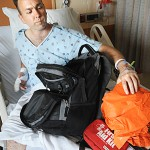 Lost hiker recovering from surgery