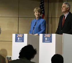 Democrats to face off in gubernatorial debate