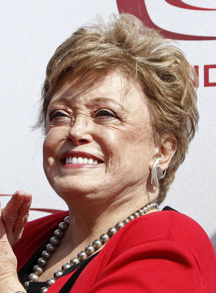 FILE - In this June 8, 2008 file photo, actress Rue McClanahan arrives at the TV Land Awards in Santa Monica, Calif. (AP Photo/Matt Sayles, file)