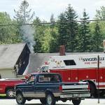 Electrical fire guts Parkman home