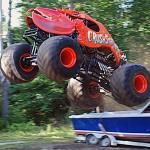 Monster trucks roll at Speedway 95