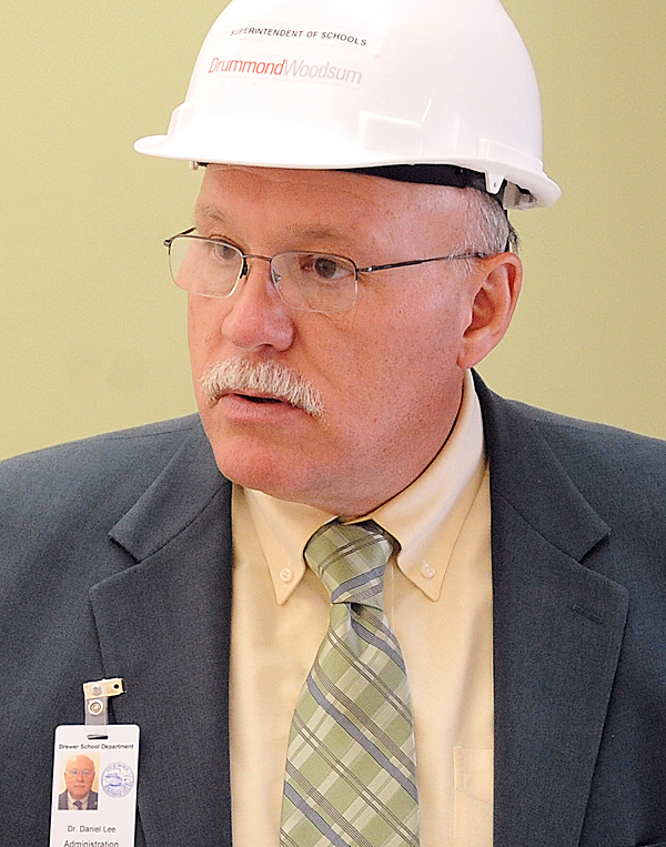 Daniel Lee, superintendent of  Brewer schools. BANGOR DAILY NEWS PHOTO BY GABOR DEGRE