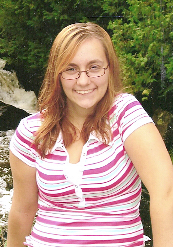 Christina Pegg, Greenbush, accident victim in Enfield.