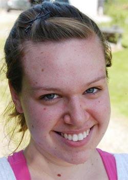 Rebecca Coolong. (Bangor Daily News/Nick Sambides Jr.)
