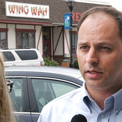 Facing uphill fight, Levesque optimistic in race against Michaud