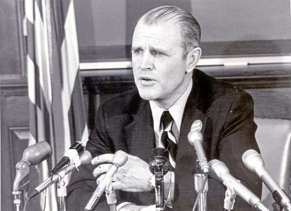 James B. Longley, Lewiston, Governor of Maine. FILE PHOTO 1/29/1975