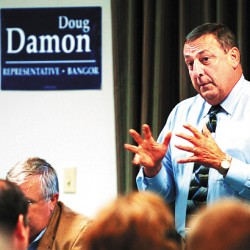 LePage holds unity gathering in Waterville