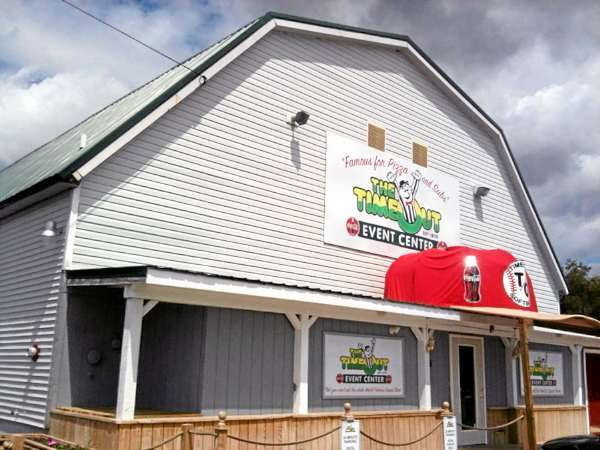 The Time Out Family Restaurant in Brewer.  Exterior photo taken July 1, 2010. (Bangor Daily News /John Clarke Russ)