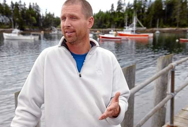 &quotIt's an eerie feeling,&quot said Phil Torrey, captain of the Master Simon, on Thursday, July 1, 2010 about the lobster boat collision he was involved in Wednesday near Pond Island which left fellow Winter Harbor fisherman Frank Jordan, 71, dead and Jordan's boat, the Linda Diane, sunk. (Bangor Daily News/Bridget Brown)